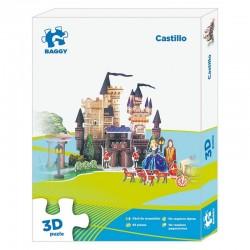 Puzzle 3D Baggy Castillo 93pz