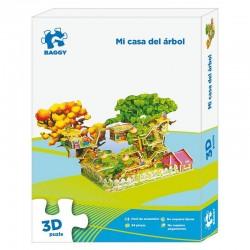 Puzzle 3D Baggy Mi casa del arbol 94pz