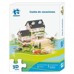 Puzzle 3D Baggy Casita de vacaciones 106pz