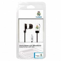 Auriculares Real Madrid boton microfono