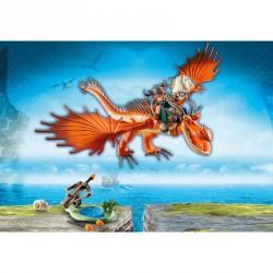 Garfios y Patan Mocoso Dragons Como Entrenar a tu Dragon Playmobil