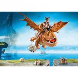 Barrilete y Patapez Dragons Como Entrenar a tu Dragon Playmobil