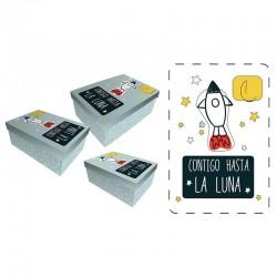 Set cajas regalo Baggy cohete