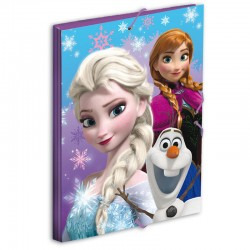 Carpeta Frozen Disney Snow Dots gomas