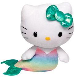 Peluche Hello Kitty TY Beanie Babies Sirenita 15cm