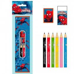 Set papeleria Spiderman Marvel 9pz
