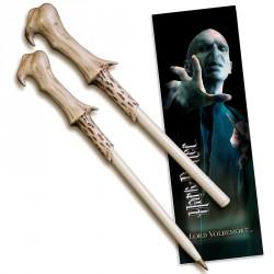 Varita boligrafo y marcapaginas Voldemort Harry Potter