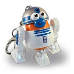 Llavero potato Poptaters Star Wars R2D2
