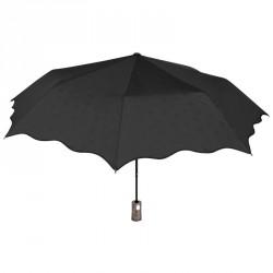 Paraguas plegable automatico flores antiviento 51cm