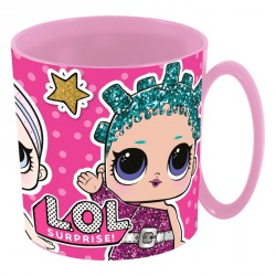 Taza LOL Surprise microondas