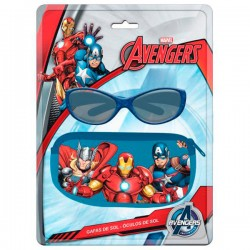 Blister funda + gafas sol Vengadores Avengers Marvel