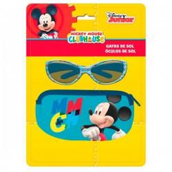 Blister funda + gafas sol Mickey Disney Club House