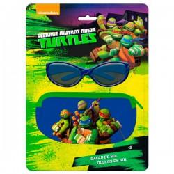 Blister funda + gafas sol Tortugas Ninja