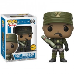 Figura POP Halo Sgt. Johnson Chase