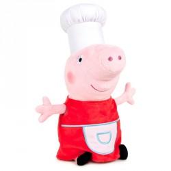 Peluche Peppa Pig Shine & Cakes soft 27cm surtido