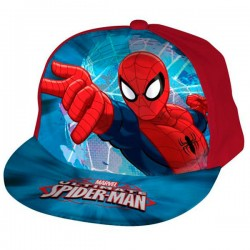 Gorra Spiderman Marvel Ultimate visera plana