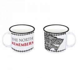Taza ceramica Juego de Tronos Stark