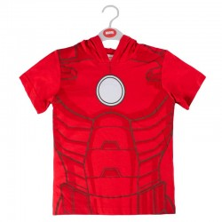 Camiseta Iron Man Marvel capucha