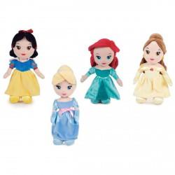 Peluche Princesas Disney soft 30cm surtido