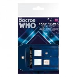 Tarjetero Tardis Doctor Who