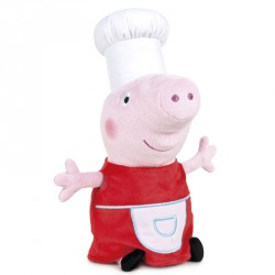 Peluche Peppa Pig Cocinera Shine & Cakes soft 45cm