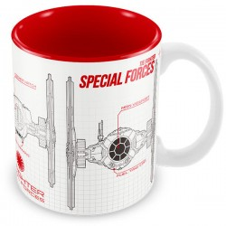 Taza Star Wars The Force Awakens Special Forces blueprint