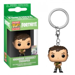 Llavero Pocket POP Fortnite Highrise Assault Trooper