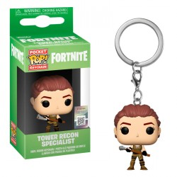 Llavero Pocket POP Fortnite Tower Recon Specialist