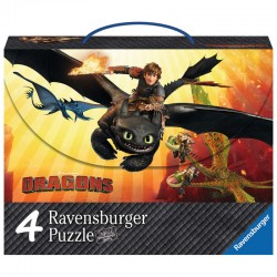 Maleta 4 puzzle Dragons