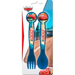 Set cubiertos Cars Disney Neon Racers