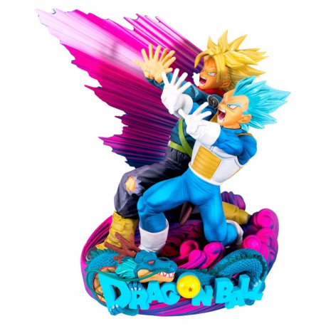 Figura Vegeta & Trunks The Brush II Super Master Stars Diorama II Dragon Ball Super 20cm