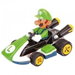 Blister coche Mario Kart 8 Nintendo pull speed Luigi
