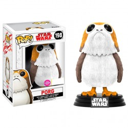 Figura POP Star Wars The Last Jedi Porg Flocked Exclusive 5 + 1 Chase
