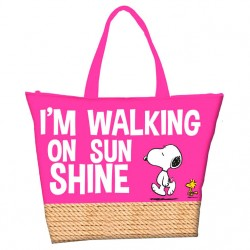 Bolso playa Snoopy Summer
