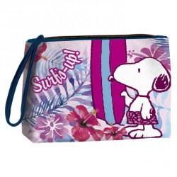 Neceser Snoopy Flowers