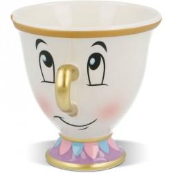 Taza 3D Chip La Bella y la Bestia Disney