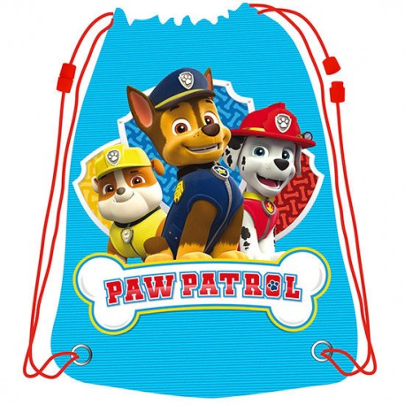 Saco Patrulla Canina Paw Patrol 44cm