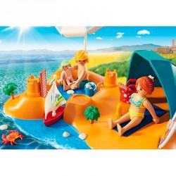 Familia en la Playa Playmobil