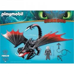Aguijon Venenoso con Crimmel Como Entrenar a tu Dragon Playmobil