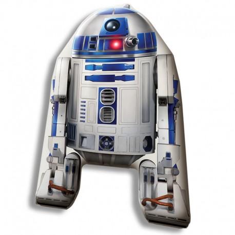 Cojin Star Wars forma R2D2 40cm velour