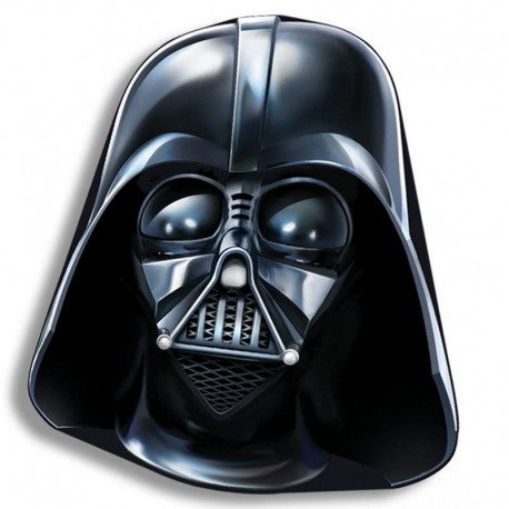 Cojin Star Wars forma Darth Vader 40cm velour