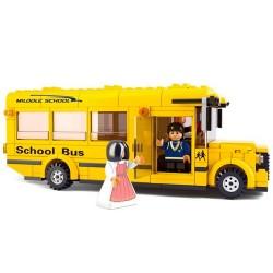 Set autobus escuela 496pz