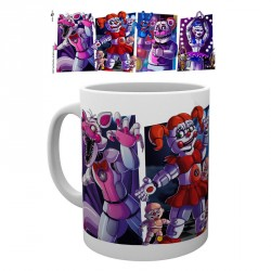 Taza Five Nights at Freddys Sister Location characters