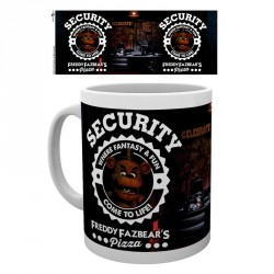 Taza Five Nights at Freddys Security