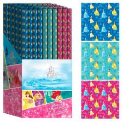 Papel regalo Princesas Disney surtido 70x150cm