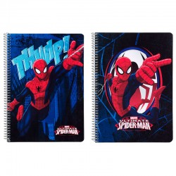 Bloc Spiderman Marvel Action A5 microperforado 80h surtido