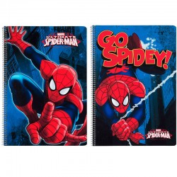 Bloc Spiderman Marvel Action A4 microperforado 80h surtido