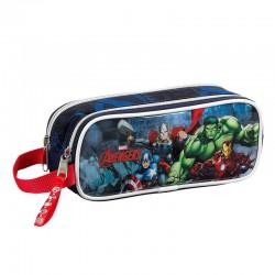 Portatodo Vengadores Avengers Marvel City doble 23pz