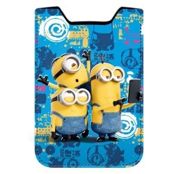 Funda movil Minions Selfie solapa