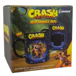 Taza termica Crash Bandicoot